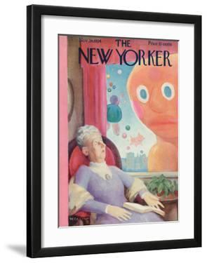 The New Yorker Cover - November 24, 1934 by William Cotton