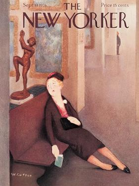The New Yorker Cover - September 19, 1936 by William Cotton