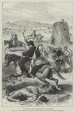 A Turkoman Raid, Carrying Off a Prize by William 'Crimea' Simpson