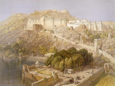 Ambair, from 'India Ancient and Modern', 1867 (Colour Litho)