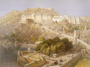 Ambair, from 'India Ancient and Modern', 1867 (Colour Litho) by William 'Crimea' Simpson