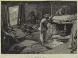 An Afghan Mill at Gundamuck by William 'Crimea' Simpson