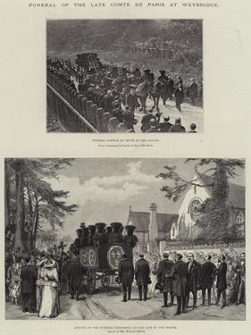 Funeral of the Comte De Paris at Weybridge by William 'Crimea' Simpson