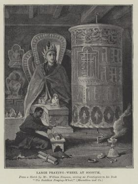 Large Praying-Wheel at Soonum by William 'Crimea' Simpson