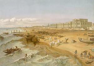 Madras, from 'India Ancient and Modern', 1867 (Colour Litho) by William 'Crimea' Simpson