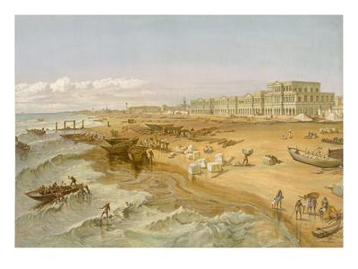 Madras, from 'India Ancient and Modern', 1867 (Colour Litho)