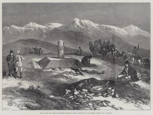 One of the New Afghan Boundary Pillars by William 'Crimea' Simpson