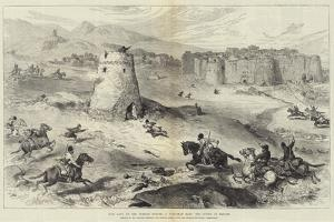 Past Days on the Persian Border, a Turkoman Raid, the Tower of Refuge by William 'Crimea' Simpson