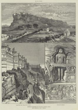 Scindia's Fortress of Gwalior, Central India by William 'Crimea' Simpson