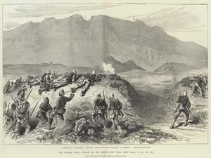 The Afghan War, Attack on Ali Musjid, the First Shot by William 'Crimea' Simpson