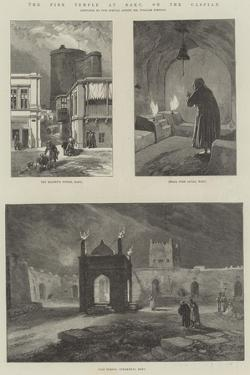 The Fire Temple at Baku, on the Caspian by William 'Crimea' Simpson