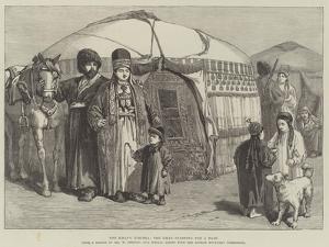 The Khan's Kibitka, the Khan Starting for a Raid by William 'Crimea' Simpson
