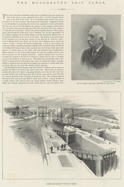 The Manchester Ship Canal by William 'Crimea' Simpson