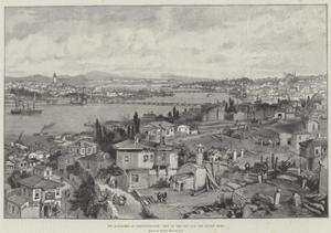 The Massacres at Constantinople, View of the City and the Golden Horn by William 'Crimea' Simpson
