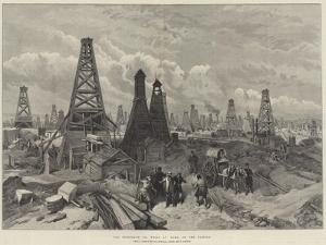 The Petroleum Oil Wells at Baku, on the Caspian by William 'Crimea' Simpson