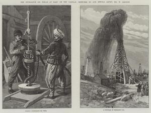 The Petroleum Oil Wells at Baku on the Caspian by William 'Crimea' Simpson