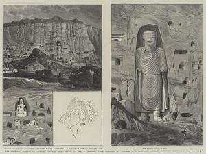 The Rock-Cut Statues of Bamian, Central Asia by William 'Crimea' Simpson