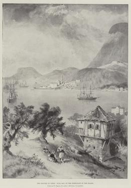 The Trouble in Crete, Suda Bay, on the North-East of the Island by William 'Crimea' Simpson