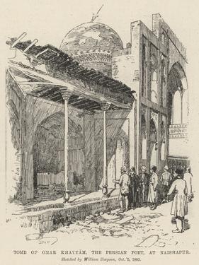 Tomb of Omar Khayyam, the Persian Poet, at Naishapur by William 'Crimea' Simpson