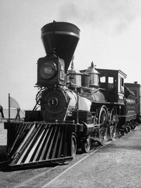 """William Crooks"" of Great Northern's St. Paul and Pacific Railroad at the Chicago Railroad Fair"