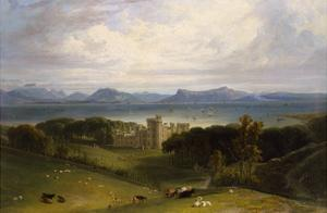 A View of Armadale Castle by William Daniell