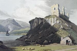 Aros Castle, Isle of Mull, Scotland, 1818 by William Daniell