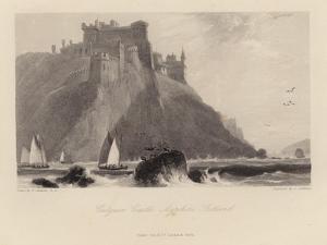 Culzean Castle in Ayrshire in Scotland by William Daniell
