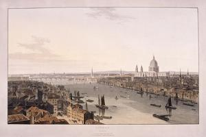 London Bridge, 1804 by William Daniell