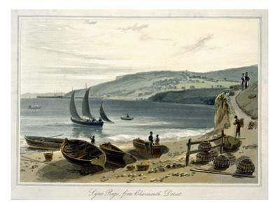 Lyme Regis, from Charmouth, Dorset by William Daniell