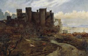 Conway Castle by William Davis