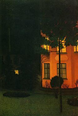 La Maison Rose, c.1892 by William Degouve De Nuncques