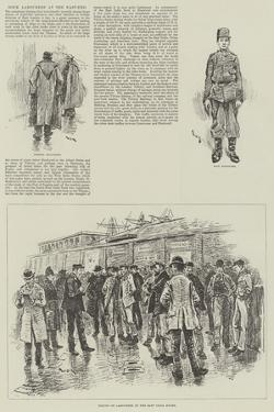 Dock Labourers at the East-End by William Douglas Almond