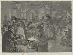 Eviction of Poor Irish Families in Leather Lane, Holborn by William Douglas Almond