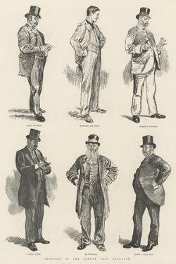 Sketches at the London Coal Exchange by William Douglas Almond