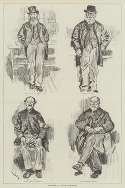 Sketches in a London Workhouse by William Douglas Almond