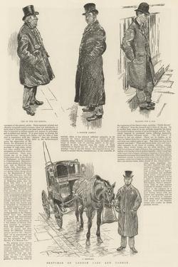 Sketches of London Cabs and Cabmen by William Douglas Almond