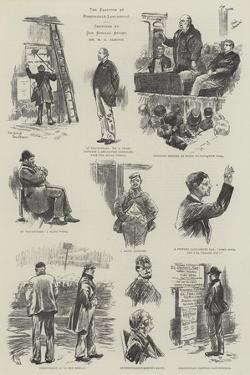 The Election at Rossendale, Lancashire by William Douglas Almond