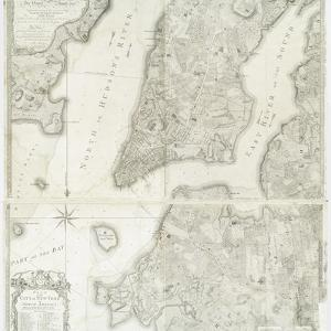 Plan of the city of New York in America as surveyed in the years 1766 & 1767 by William Faden