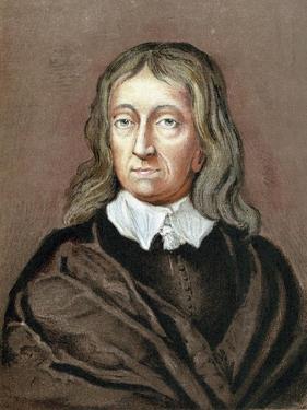 John Milton (1608-167), English Poet, (C1645-1674) by William Fairthorne