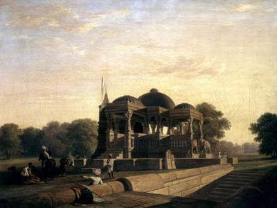 Ancient Temple at Hulwud, 1826