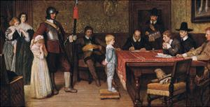 And When Did You Last See Your Father? by William Frederick Yeames