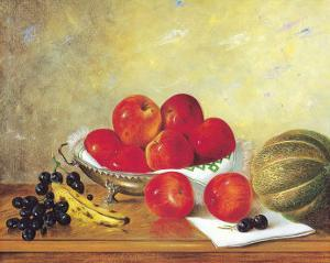Still Life with Red Apples by William Galvez