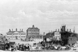 Old Liverpool Infirmary and Alms-Houses, with John Cooke's Circus in the Foreground, C.1826 by William Gavin Herdman