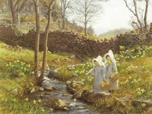 Daffodils by William Gersham Collingwood