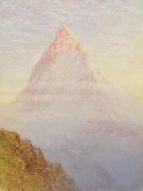 The Matterhorn, 1870 by William Gersham Collingwood