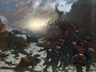 Charging of the Battery, 1882