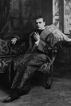 William Gillette as Sherlock Holmes, Ca. 1899