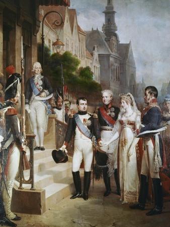 Napoleon Receiving the Queen of Prussia, Tilsit
