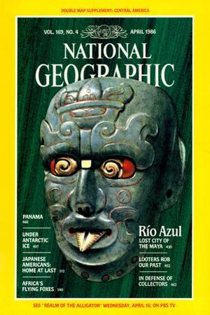 Cover of the April, 1986 National Geographic Magazine
