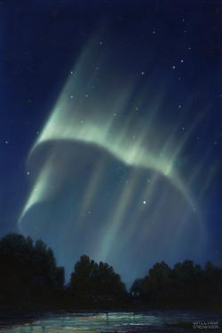Masses of Rays are Formed When an Aurora's Rayed Bands are Broken by William H. Crowder